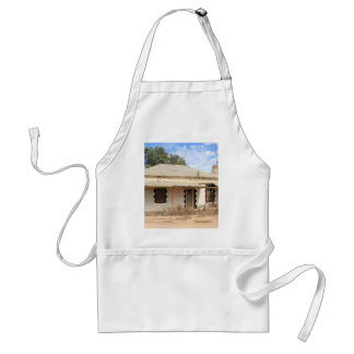 Old cottage in country Australia Adult Apron
