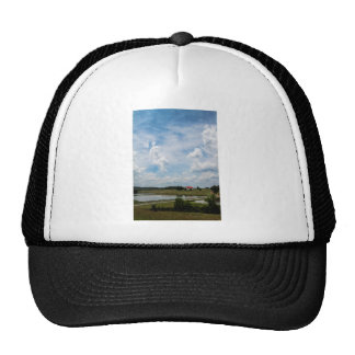 Old Country Barn Landscape Trucker Hat