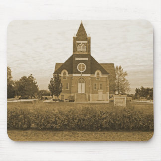 Old Country Church Mouse Pad