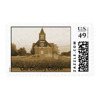Old Country Church Postage
