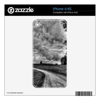Old Country Dirt Road Decal For The iPhone 4