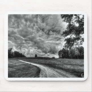 Old Country Dirt Road Mouse Pad