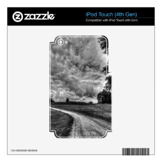 Old Country Dirt Road Skin For iPod Touch 4G