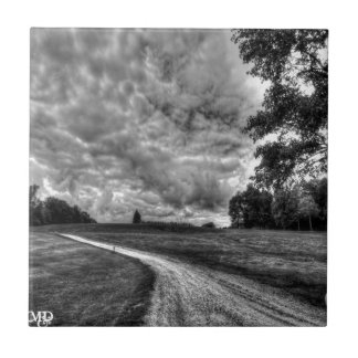 Old Country Dirt Road Tile