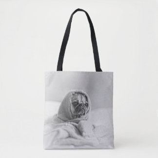 Old Country Pug Tote Bag