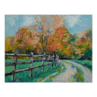Old Country Road Print