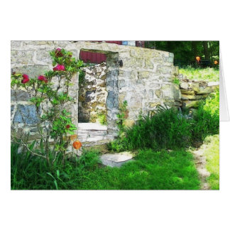 Old Country Root Cellar Note Card