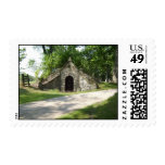 Old Country Tomb Postage