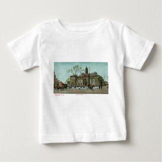 Old Court House, Newark, NJ c1910 Vintage Baby T-Shirt