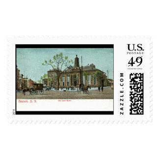 Old Court House, Newark, NJ c1910 Vintage Postage Stamps