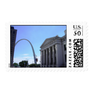 Old Courthouse and the Gateway Arch - St. Louis Postage