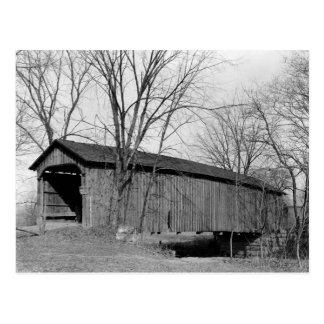 Old Covered Bridge Post Card