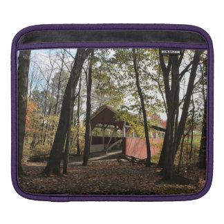 Old Covered Bridge. Sleeve For iPads