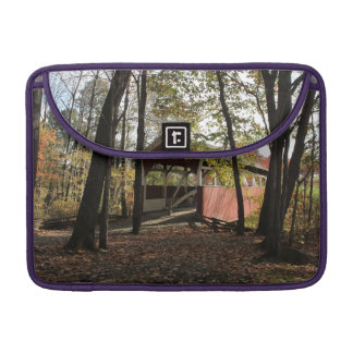 Old Covered Bridge. Sleeves For MacBook Pro