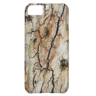 Old cracked wood natural tree bark picture cover for iPhone 5C