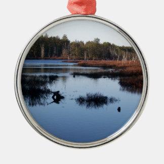 Old Cranberry Bog Metal Ornament