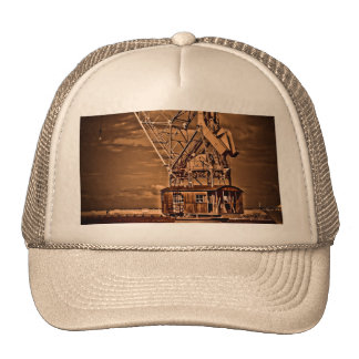 OLD CRANE TRUCKER HAT