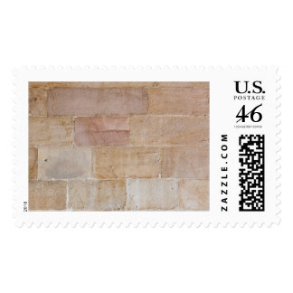 Old Cream Colored Brick Wall Postage