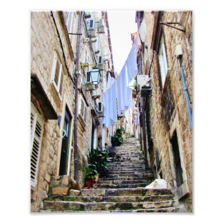Old Croatian Sidestreets Photo Print