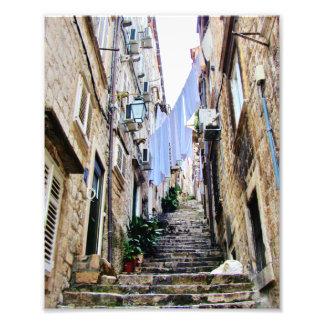 Old Croatian Sidestreets Art Photo