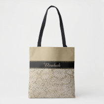 Old Crochet Lace Floral Pattern   your ideas Tote Bag