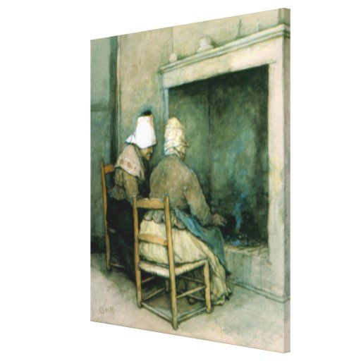 Old Cronies Gallery Wrap Canvas