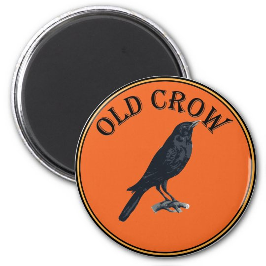 old crow magnet