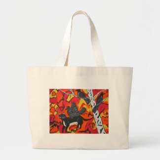 Old Crow Redeo Large Tote Bag
