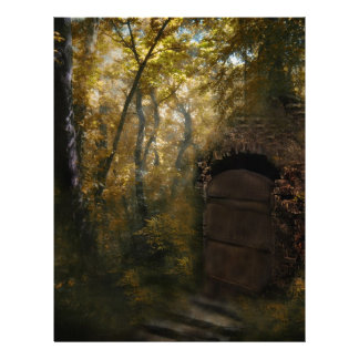 Old Crypt Autumn Letterhead