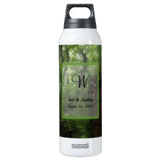 Old Crypt Monogram 16 Oz Insulated SIGG Thermos Water Bottle