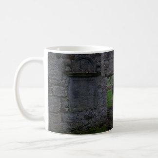 Old Culross Church Ruins: Outlander's Black Kirk Classic White Coffee Mug