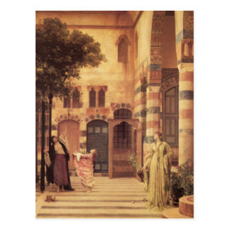 Old Damascus by Frederic Leighton Postcard