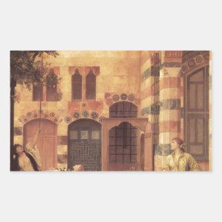 Old Damascus by Frederic Leighton Rectangular Sticker