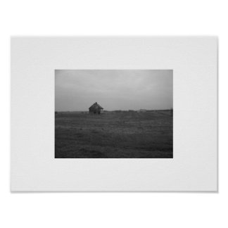 Old Decrepit Barn - Photography Print