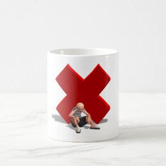 Old Defeated Man Coffee Mug