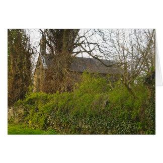 Old Derelict Church in Ireland Note Card