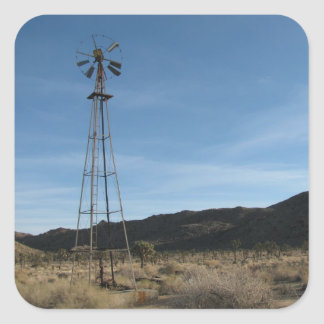 Old Desert Windmill Sticker