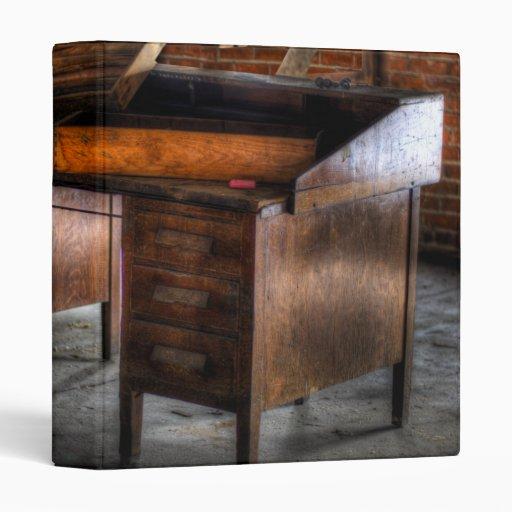 Old Desk In The Attic Vinyl Binder