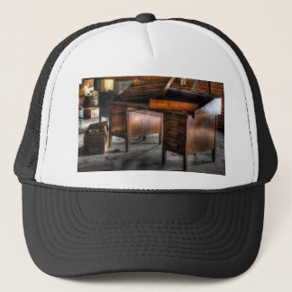 Old Desk In The Attic Trucker Hat