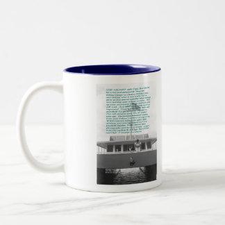 OLD DESTIN: Through the eyes of a Child Two-Tone Coffee Mug