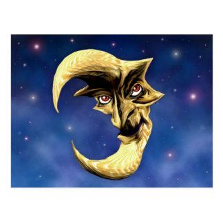 Old Devil Moon postcard