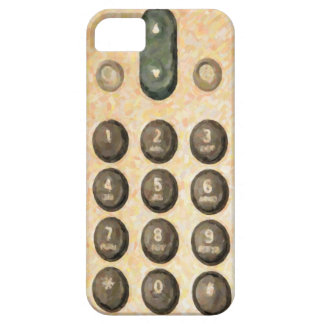 Old Dial Pad  iPhone 5  Barely There Case-Mate iPhone SE/5/5s Case