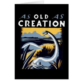 Old Dinosaur Looking Good Card