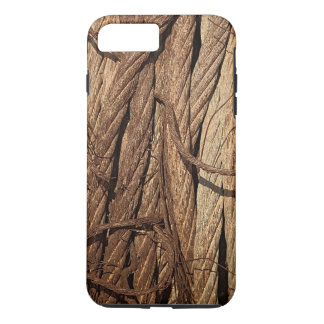 Old Dirty Rusty Industrial Steel Cables iPhone 8 Plus/7 Plus Case