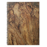 OLD DISTRESSED WOOD TEXTURE.jpg Spiral Notebooks
