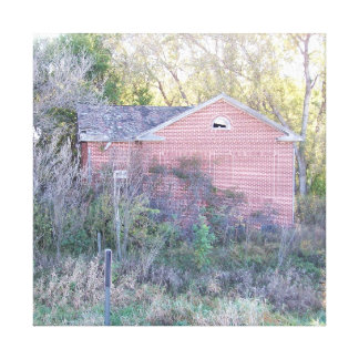 Old District School House Canvas Print
