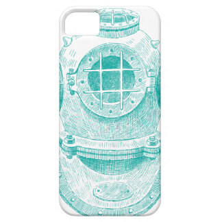 Old diver suit iPhone 5 cases