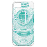 Old diver suit iPhone 5 cover