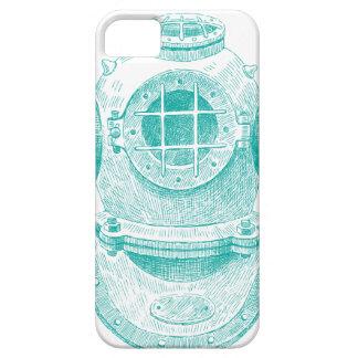 Old diver suit iPhone SE/5/5s case