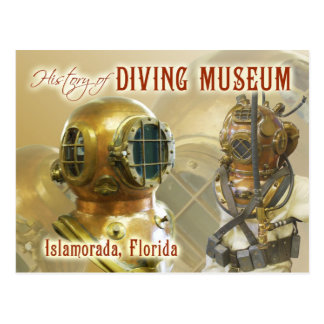 Old Diving Equipment, History of Diving Museum, FL Post Cards